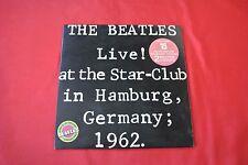 """The Beatles Live At The Star-Club 12"""" LP Import Canada Original 1977 Vinyl Set"""