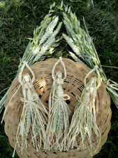 Lammas Corn Dolly Goddess / Grain Mother. Pagan Altar figure. Handmade