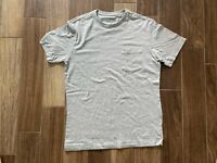 NEW Mens Vineyard Vines Grey Color Pocket T-Shirt Size Small Shirt