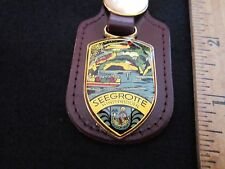 Seegrotte Key Ring Hinterbrohl Austria Leather Gluckauf Miner FREE SHIP