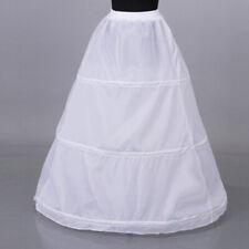 1Pc Women 3 hoop crinoline wedding ball gown bridal dress petticoat skirt M&E