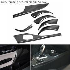 Real Carbon Fiber Car Interior Molding Cover Trim For BMW F20 F21 F22 F23 12-17