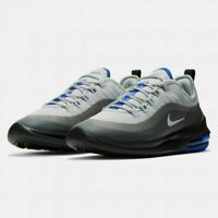 Nike Air Max Axis Running Shoes Gray Platinum Blue Black AA2146-016 Men's NEW