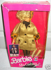 #8150 RARE NRFB Estrela Brazil Alta Costura Barbie Doll Foreign Issue
