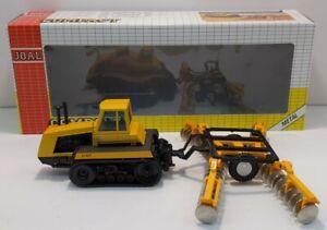 Joal 253 1:50 CAT Challenger 65 Tractor w/Disc Harrow LN/Box