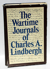 Great Book ~ The Wartime Journals of Charles A. Lindbergh ~ First Edition