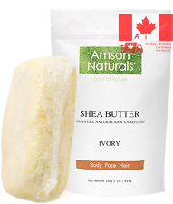 Shea Butter 1 lb 16 oz -100 Natural Raw Unrefined -by -Use Alone or in DIY Sk...