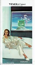 PUBLICITE ADVERTISING 115  1978  CAPUCCI  parfum femme YENDI