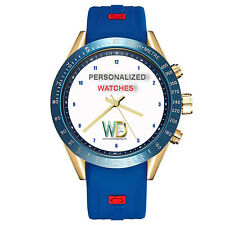 Custom Made Watch Dial 47mm Steel Case Silicon 22mm Band Your LOGO or Design