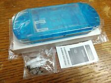 Sony PSP 3000 Shell CLEAR BLUE *NO BUTTONS*