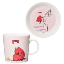 Moomin Ninny Powder Porcelain Mug & Plate Set Brand New Boxed