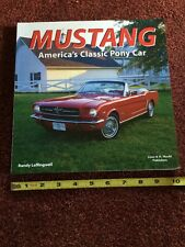 Soft Cover Coffee Table Book Ford Mustang America's Classic Pony Car
