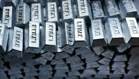 Lot Of 25 Pounds Bullet Casting Metal Lead Ingots ***15-18 BHN Quality Lead***