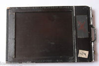 "3.25 x 4.25"" Sheet Film Holder with Darkslides - Folmer Graflex Wood - USED M83"