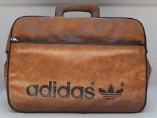 alte Adidas Reiser Tasche braun Vintage 70er