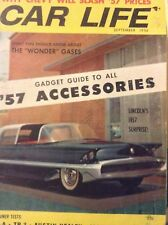 Car Life Magazine '57 Accessories Gadget Guide September 1956 012419nonrh