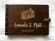 Travel Photo Album Wedding Photo Album Wedding Gift for Couple Wood Travel Album