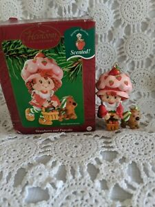 Heirloom Collection Strawberry and Pupcake Holiday Ornament