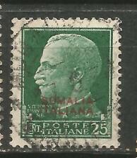 Somalia Scott #136(0) Used Vittorio Emanuele III 1931