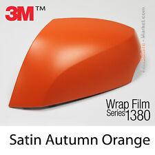 Matt Autumn Orange Metallic 3M 1380 S284 New Series Car Wrapping Abdeckung Folie