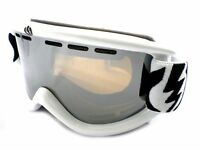 ELECTRIC Ski Goggles EG.5S Gloss White with Bronze Silver Chrome Mirror Lens