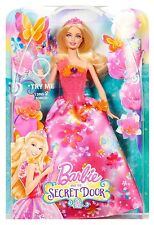 Singing Barbie The Secret Door Alexa Doll Magic Wand Creative Princess Girl New