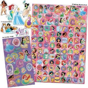 Disney Princess Mega Pack 150 PLUS Stickers Mega Pack Party Loot Bag Fillers