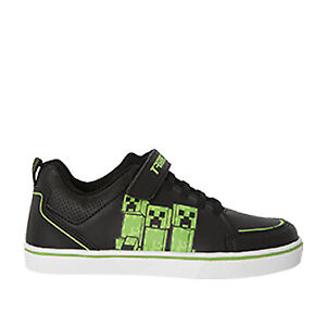 NEW Licensed Minecraft Boys Touch Fastening Casual Sneaker