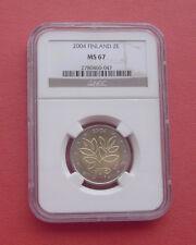 Finland 2004 Enlargement of the European Union 2 Euro Bimetallic Coin NGC MS67