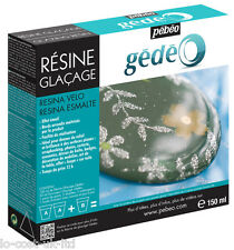 PEBEO GEDEO GLAZING RESIN 150ML ENAMEL EFFECTS EASY TO USE QUICK DRYING
