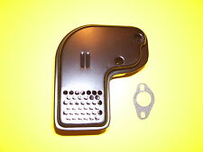 MUFFLER & GASKET FOR 4-7HP ENGINES- ( TECUMSEH #- 35771 / 32648A / 33697A )