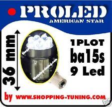 2x ampoule 9 led blanc feux lexus culot R5W R10W P21W