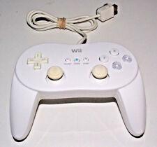 Genuine Nintendo Wii White Classic Controller Pro Remote SNES NES Mini