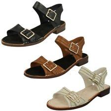 Clarks Standard (D) Block Sandals & Beach Shoes for Women
