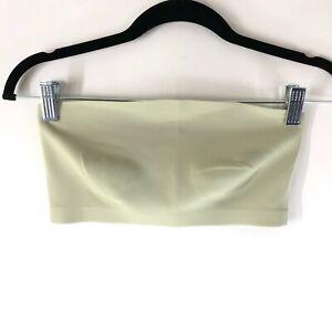 Intimately Free People Nina Bandeau Bralette Tube Top Stretch Matcha Green XS