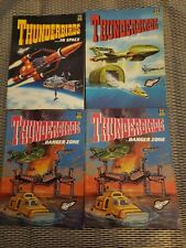 4 Vintage Thunderbirds Comic Albums - Graphic Novel Books