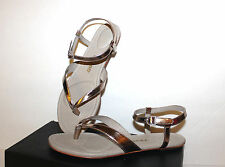 Tsubo Bellah Light Gold Leather Womens Sandals 7.5