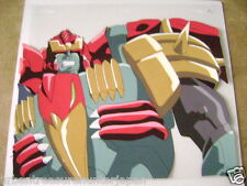 TRANSFORMERS BEAST WARS NEO MAGMATRON ANIME PRODUCTION CEL 3