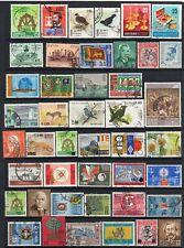 CEYLON / SRI LANKA = Selection of Fine Used stamps. Unsorted. Postmarks, etc. (b