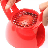 Red Tomato Onion Slicer Potato Chopper Vegetables Fruit Cutter Kitchen Tool