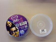 DVD VERGINI CAMPANA CAKEBOX 25 PEZZI ADM DVD-R 4.7GB 120MIN 8X SPEED