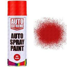 1 x 400ml Red Gloss Spray Paint Aerosol Can Auto Extreme Car Van Bike