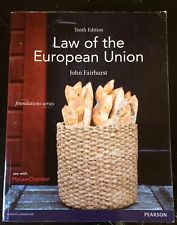 Law of the European Union by John Fairhurst (Paperback, 2015) 10th Edition