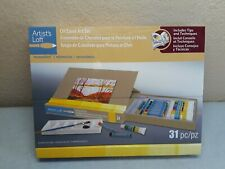Artist's Loft Painting Oil Easel Art Set, new in box, 31 pieces,