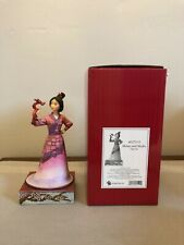 Mulan and Mushu Jim Shore Disney Traditions Princess Enesco #4037510