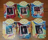 1993-94 McDonald's French Fry Holder Jordan Bird Erving Nothing But Net MVPs