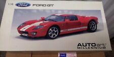 Autoart 1:18 Millennium (First Issue) 2004 FORD GT - Red/w White Stripes