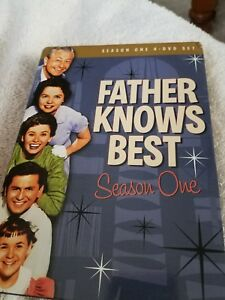Father Knows Best complete season 1 dvd