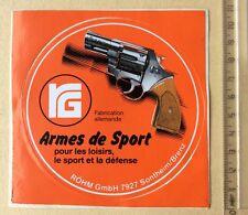 Autocollant Armes De Sport Loisirs Sport Défense Allemagne Année 70/80