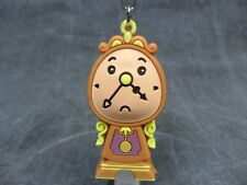 Disney Beauty & the Beast * Cogsworth Clock * Figural Keychain Key Chain Ring
